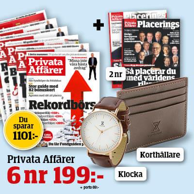 privata affarer med premie planbok och korthallare 2021