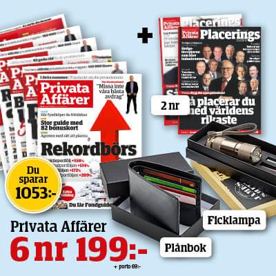 privata affarer med. premie planbok och ficklampa 2021