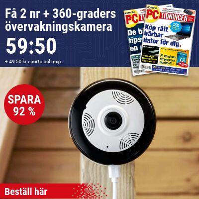 pc tidningen 360 grader overvakningskamera 2020