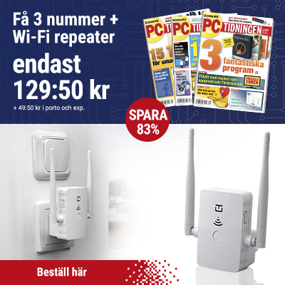 pc tidningen wi fi repeater premie 2021